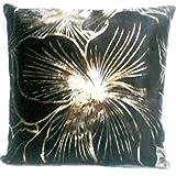 Aaiye Ghar Sajaiye Raw Silk Cushion Cover With Multocolour Blocks- Set Of 5, Multi _(16 X 16 Inch)