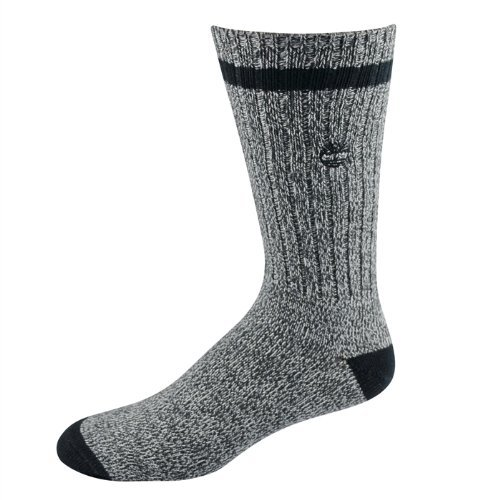 Timberland Outdoor Leisure Classic Boot Sock-Grey-2 pack