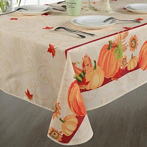 Tablecloths - Fall Harvest Autumn Leaves