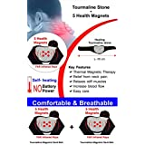 Sira Self Heated Neck Support / Neck Belt / Neck Pad / Neck Reliever / Tourmaline Self Heating Magnetic Neck Belt...