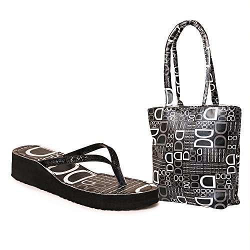 10d2152650a New Design Ladies Slipper With Ladies Bag Free Best Deals With Price ...