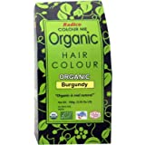 Radico Colour Me Organic Burgundy 100 Gm (USDA Certified)