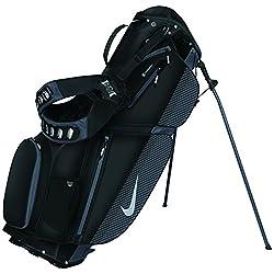 Nike Air Sport Stand Golf Bag Black/Silver/Dark Grey