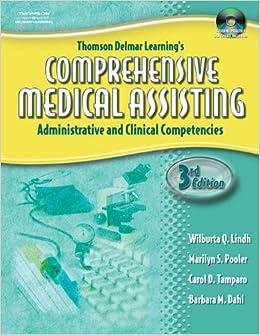 DELMAR'S COMPREHENSIVE MEDICAL ASSISTING 4E