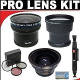 .21x HD Professional Super Wide Angle Panoramic Macro Fisheye Lens 3x Digital Telephoto Professional Series Lens...
