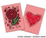Charity Goods : 24 hours TV 2013 - Clear Folder (Pink) Arashi: Satoshi Ohno / Yayoi Kusama