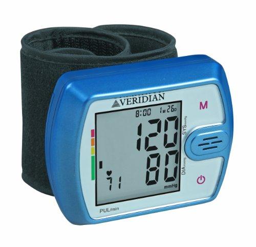 Veridian 01-526 Talking Ultra Digital Blood Pressure Wrist M