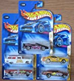 Hot Wheels 2004 Cereal Crunchers COMPLETE SET: Camaro 1995, 8 Crate, Lincoln Contintental ...