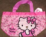 Pink Floral Hello Kitty Small Tote Bag