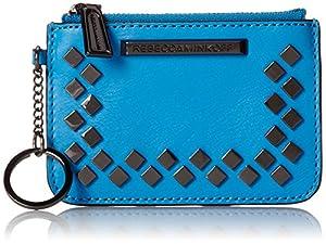 Rebecca Minkoff Little Louie Keychain Wallet, True Turquoise, One Size