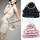 Elegant Bridal Handbag Accessories Beaded Evening Purse Mini Bag Wedding Clutch Holiday Birthday Christmas Gift Sil007-2 Colors Available