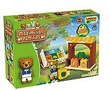 Unico Plus Maximilian Families Building Blocks Toy-Market/Gemsestand-820008923 by BIG Spielwarenfabrik