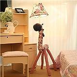TheTickleToe Baby Kids Nursery Lights Cute Plush Soft Multicolored Cloth Room Home Decor Floor Lamp Colorful Horse