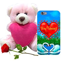 Valentine Gift Homesogood You Are My Valentine Multicolor 3D Mobile Case For IPhone 6 (Back Cover) With Teddy...