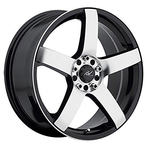 ICW Racing 216MB Mach 5 18×7.5 5×100/5×114.3 +42mm Black/Machined Wheel Rim