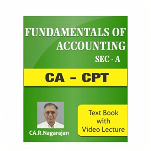 Fundamentals of Accounting cpt