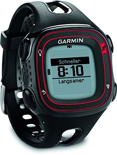 Garmin Forerunner 10 - Reloj GPS color negro/ rojo