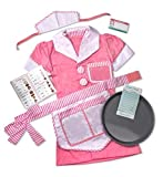 Melissa and Doug Waitress Role Play Set WIth Felt Play Sandwich Set by Mel by Melissa