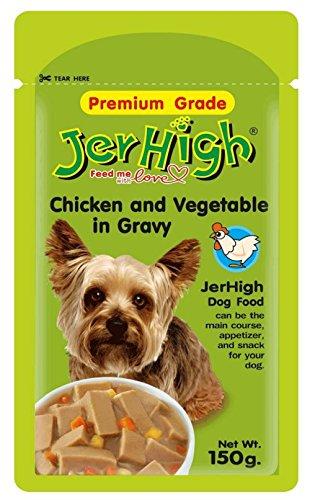 Jerhigh Chicken & Veg In Gravy (150 Gms) Pack Of 3