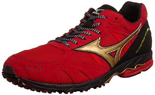 [ミズノ] Mizuno WAVE SPACER GL-J4 [MEN'S] J1GA1475 50 (レッド×ゴールド/260)