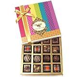Chocholik Belgium Chocolates - Decadent Truffle And Chocolate Collection Gift Box