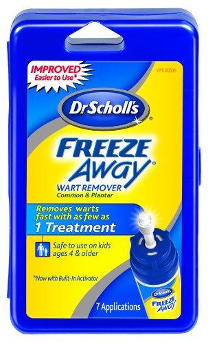 scholls freeze away wart remover