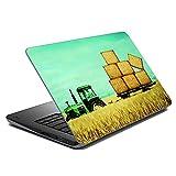 MeSleep Abstract Farm Laptop Skin