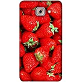 PrintVisa Designer Back Case Cover For Samsung Galaxy On Max (Design Background Ripe Red Green)