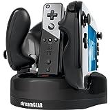 Brand New Dreamgear Nintendo Wii U Quad Dock Revolution