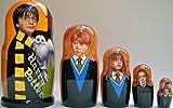 Harry Potter Russian Nesting Doll 5 Pcs / 6-7in DSCI 31