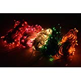 ASCENSION Set Of 6 Rice Lights Serial Bulbs Decoration Lighting For Diwali Christmas