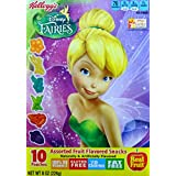 Kellogg's Disney Fairies Assorted Fruit Flavored Snacks, 10-count Box (2 Boxes)
