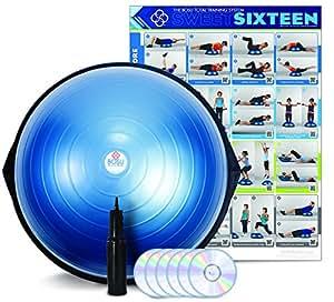 Amazon.com : BOSU Balance Trainer, Blue : Exercise