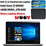 Dell Inspiron Flagship 17.3-Inch Full HD Touchscreen Backlit Keyboard Laptop PC (Intel Core I7-6500U Dual-Core...