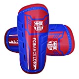 Barcelona Unisex Official Slip in Shinguards, Multi-Colour, Medium/Youth