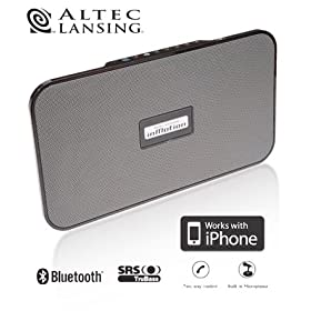 Altec Lansing imMotion SoundBlade iMT525 Wireless Handsfree Bluetooth Audio Speaker System/SpeakerPhone for iPhone/Cell/Mobile Phone/PDA/CD/MP3 Player