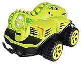 Kid Galaxy Amphibious RC Car Mega Morphibians Crocodile. All Terrain Remote Control Toy, 49 MHz