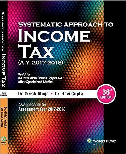 Girish Ahuja Income Tax Book AY 2017 - 2018 for IPCC