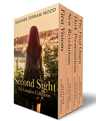 Read the entire collection featuring quirky psychic Kate Edwards and the devastatingly handsome Detective Jared Corbett…  Heather Topham Wood's paranormal romance boxed set Second Sight: The Complete Collection (4 Book Bundle)