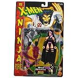 Marvel Comics Year 1996 X-MEN Ninja Force Series 5-1/2 Inch Tall Action Figure - NINJA PSYLOCKE With Removable...