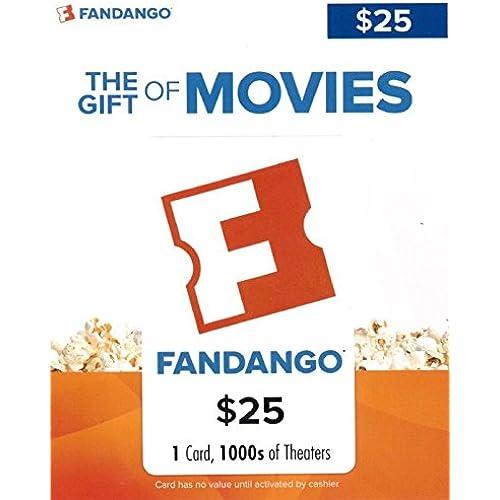Fandango Gift Card $25