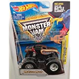 Monster Mutt #6 (Red Collar) 2015 Hot Wheels Monster Jam 1:64 Scale Off Road Truck With Snap-On Batt