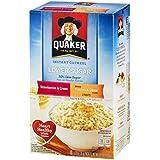 Quaker Instant Oatmeal Lower Sugar Strawberries & Cream / Peaches & Cream - 10 CT