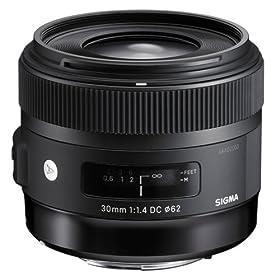 SIGMA 交換レンズ 30mm F1.4 DC HSM キヤノン用
