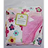 Carter Baby Blanket - Colorful Baby Blanket, Warm And Cozy, Extra Soft Fleece Blanket 30 X 40 In (Multi/Flower)
