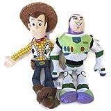Toy Story Buzz Lightyear And Woody Soft Plush Figures, Stuffed Dolls