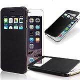 IPhone 6S Plus Case, Pasonomi [Smart Window View] IPhone 6S Plus Folio Wallet Case - Slim Flip Leather Case For...