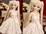 1/3 MSD DOD BJD Dress Skirt Outfit Lolita Doll Dollfie Luts / 5 Colors to Choose / White