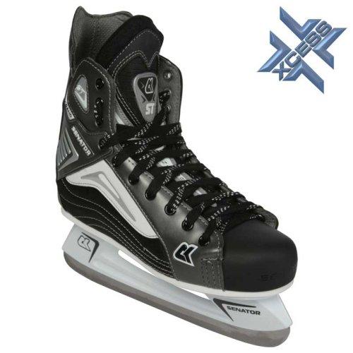 XCESS–Senator Grand ST Eishockey Schlittschuhe–Gr. 4