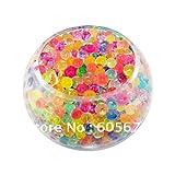 Jelly BeadZ JB Water Bead Gel, 8oz, Rainbow Mix